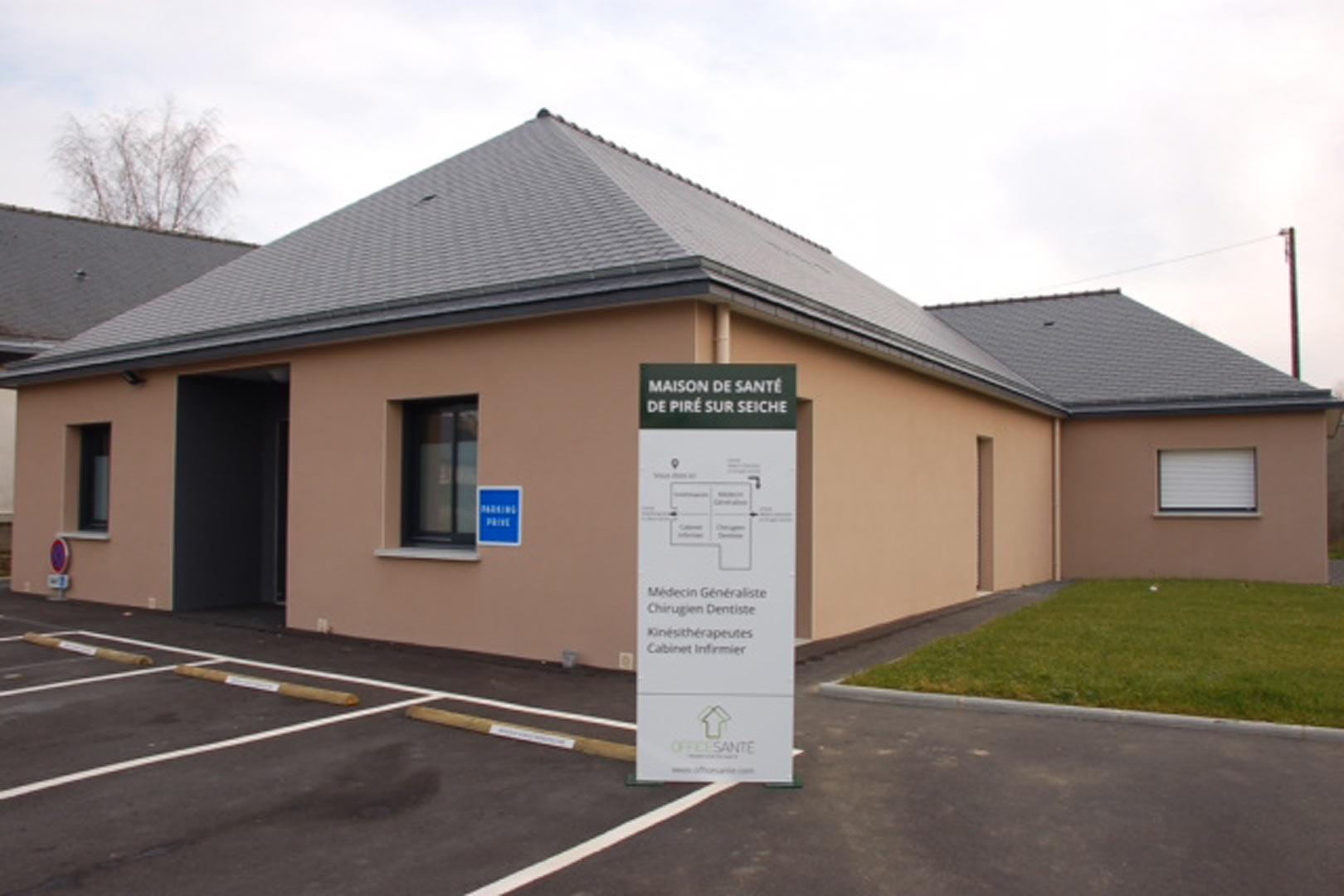 La Maison de santé à Piré-sur-Seiche (35) ouvrira en 2014
