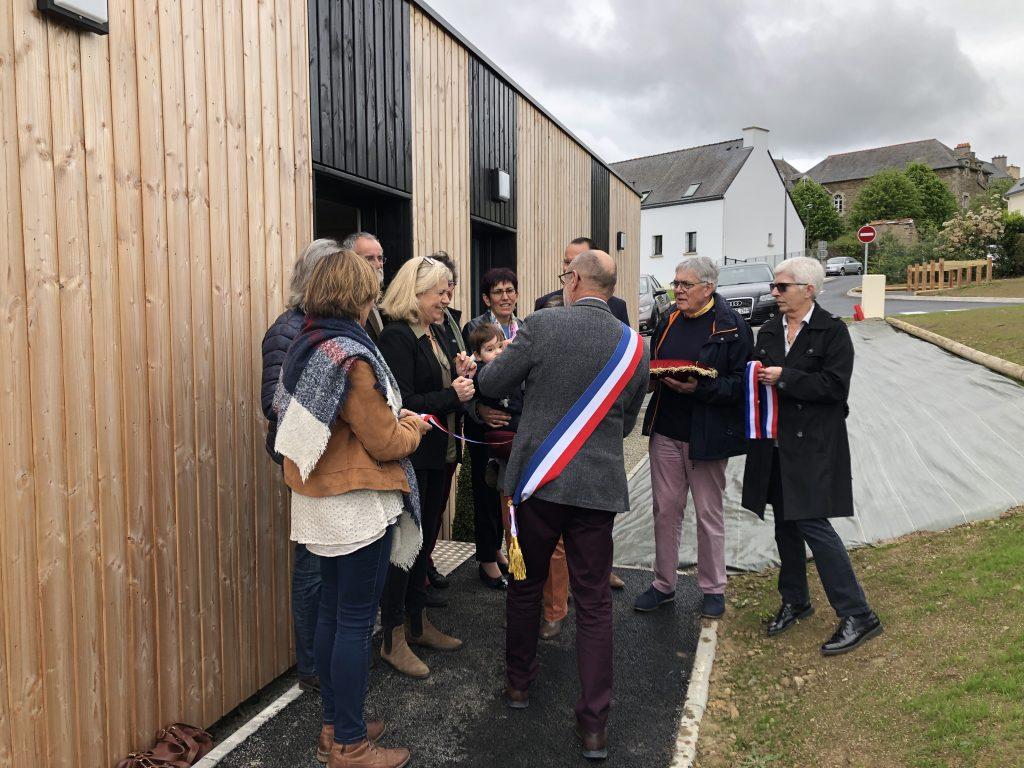 Inauguration à Plouer-sur-Rance