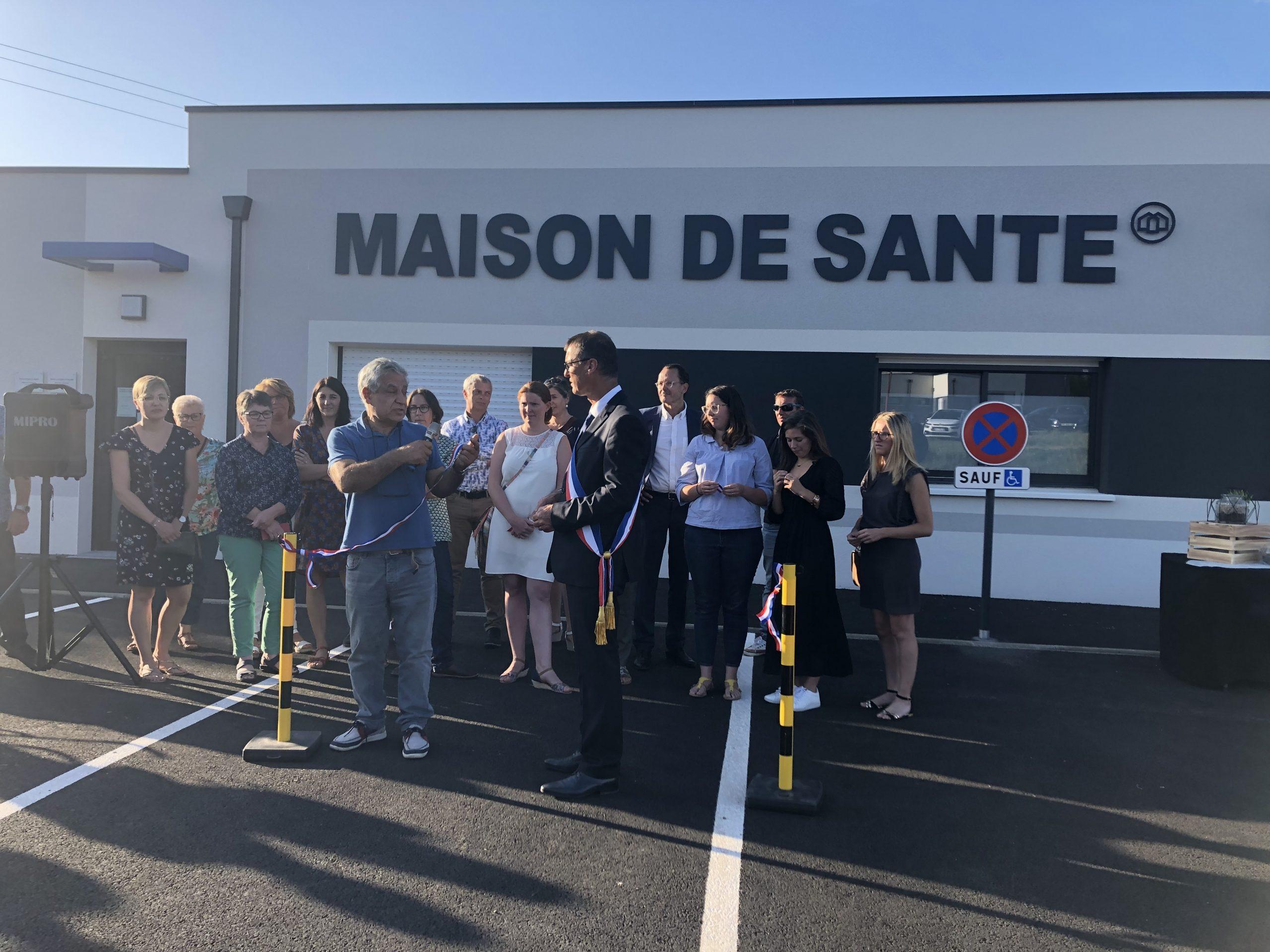 Inauguration de la maison de santé de Bourg-des-Comptes (35)