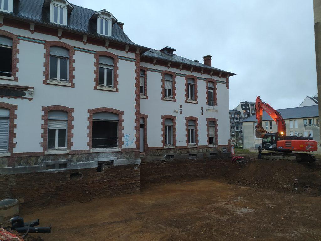 Rénovation du site Hôtel Dieu