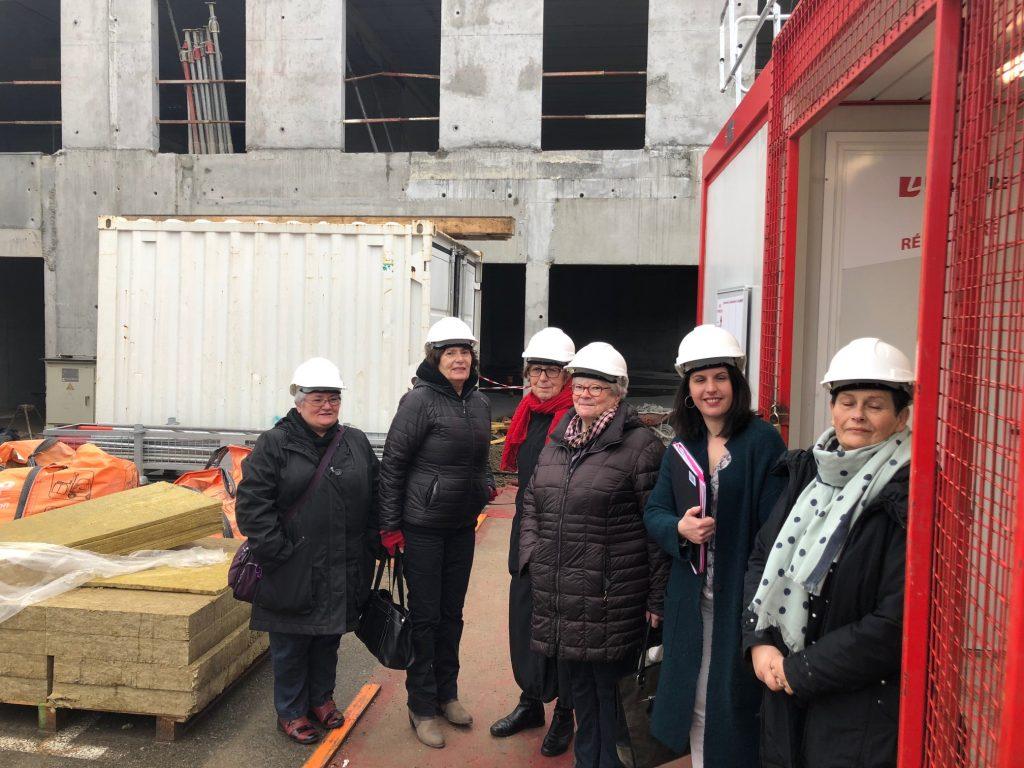 Réunion de chantier à Lorient
