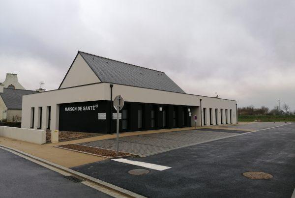 Maison de santé à Plougasnou