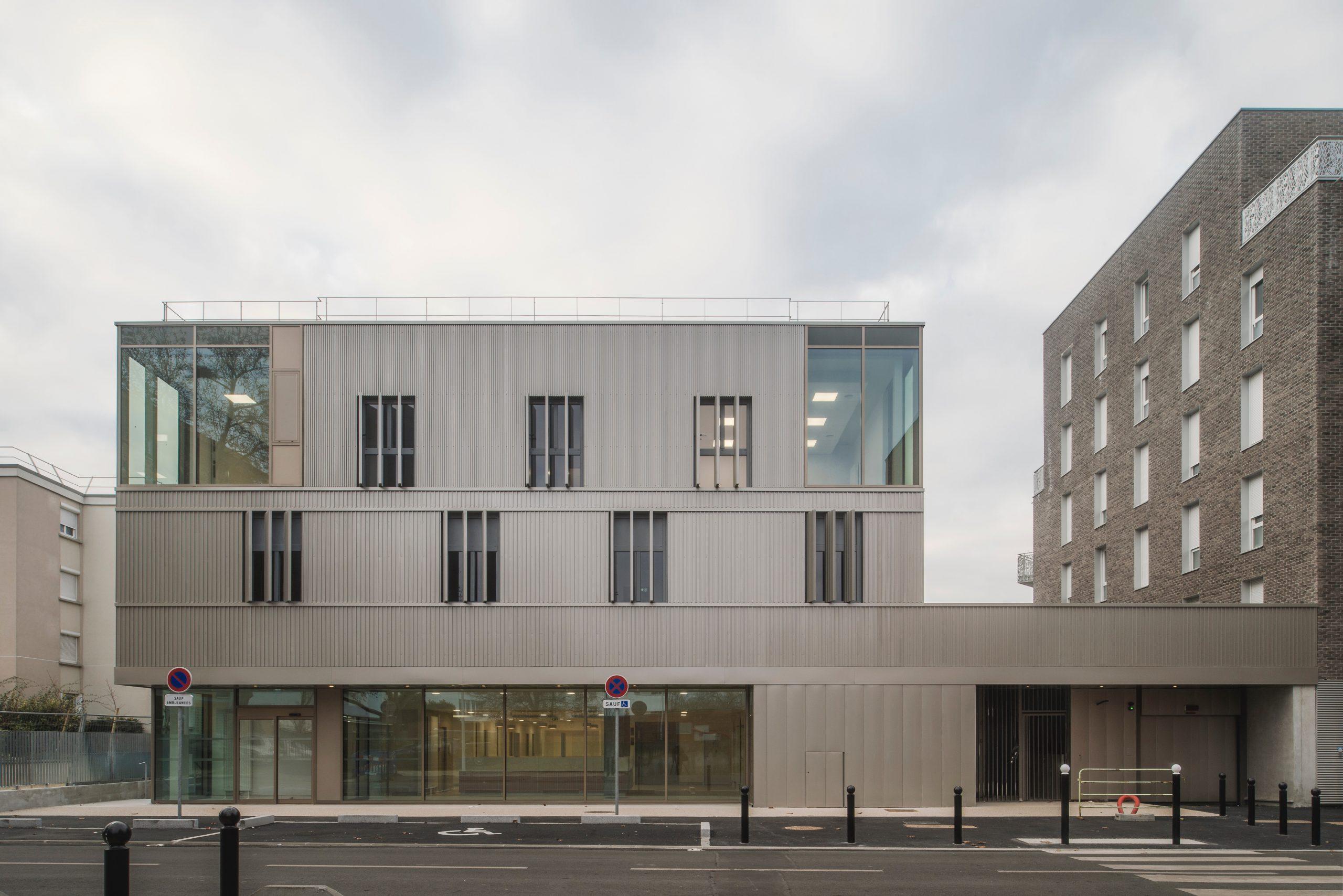 Inauguration du centre municipal de santé Gisèle-Halimi à Orly
